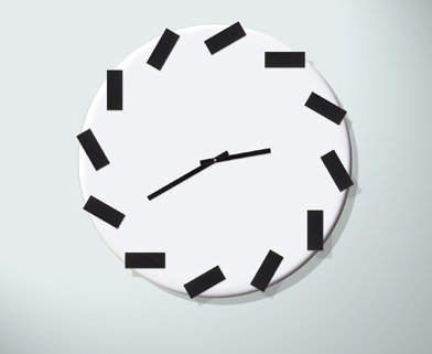 chasing-time wall clock nu-collectionj.p.meulendijks