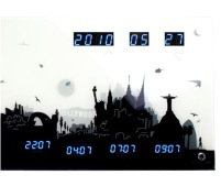 skyline world clock nextime 2 j.p.meulendijks